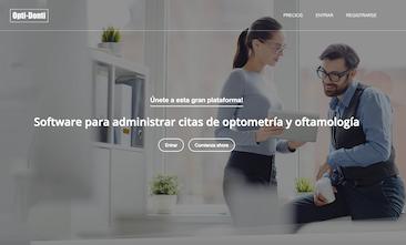 Software para administrar citas de optometría y oftamología
